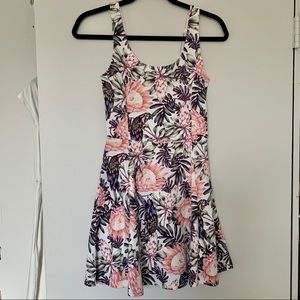 H&M Divided Floral Print Dress